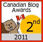Winner 2010 Canadian Blog Award - Best Chronic Illness